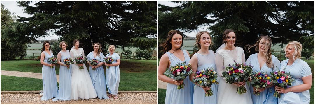 Bridal portrait Swancar Farm
