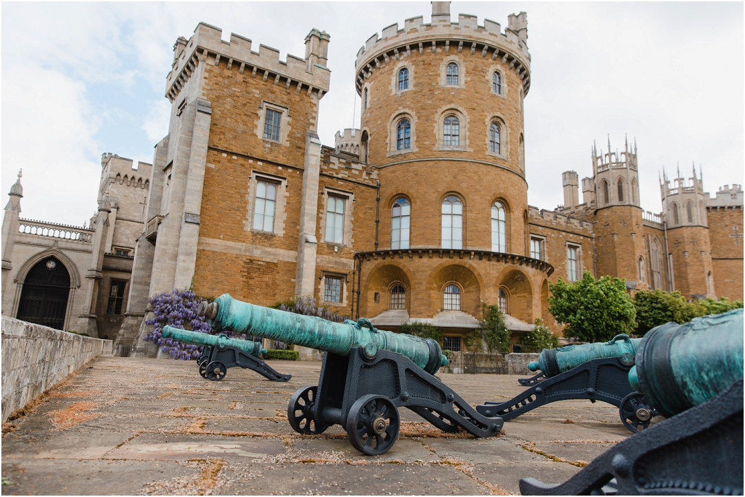 Military Wedding at Belvoir Castle