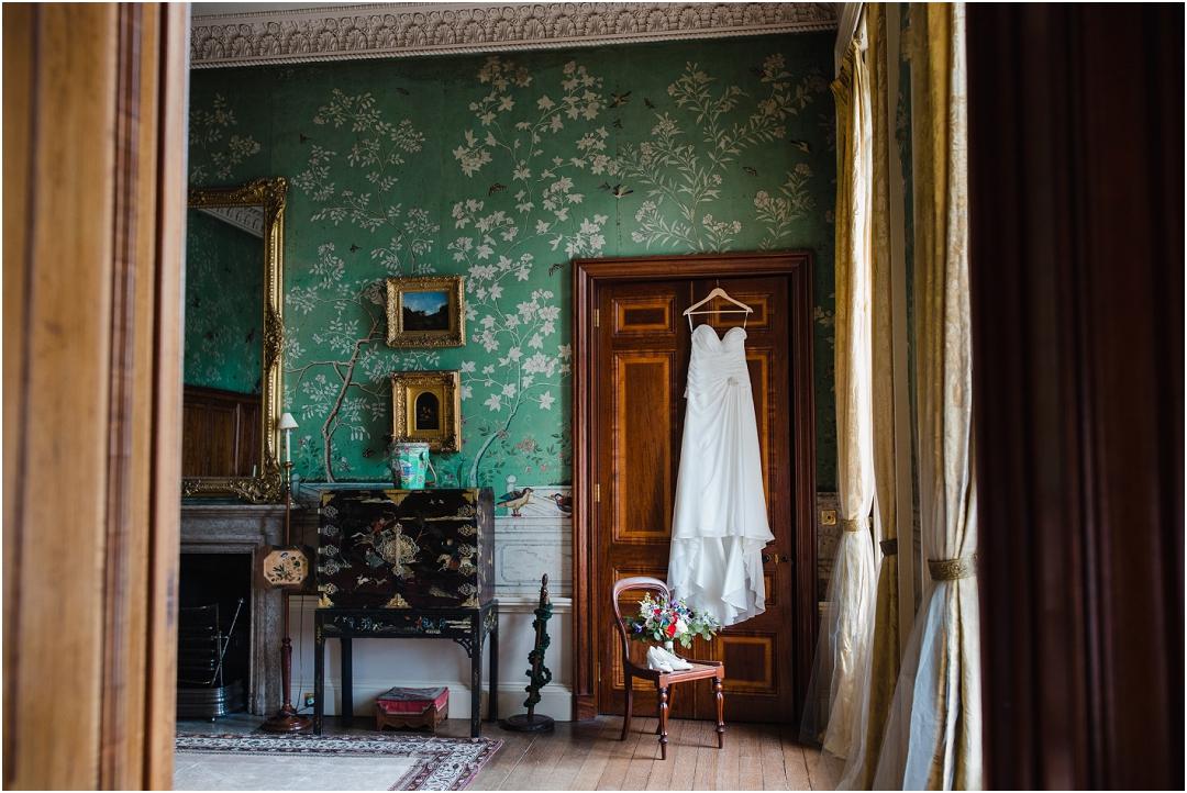 Bridal suite at Belvoir Castle