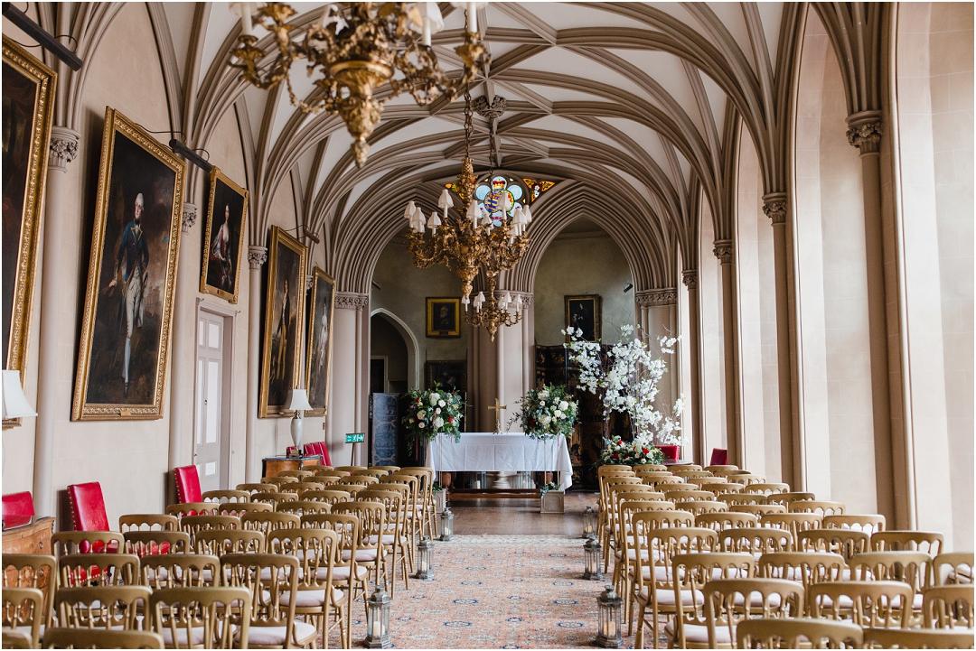 Ceremony space Belvoir Castle