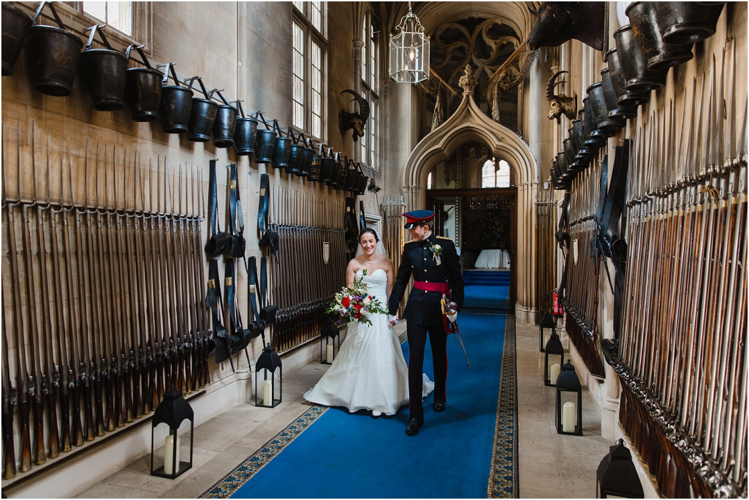 Military wedding traditions