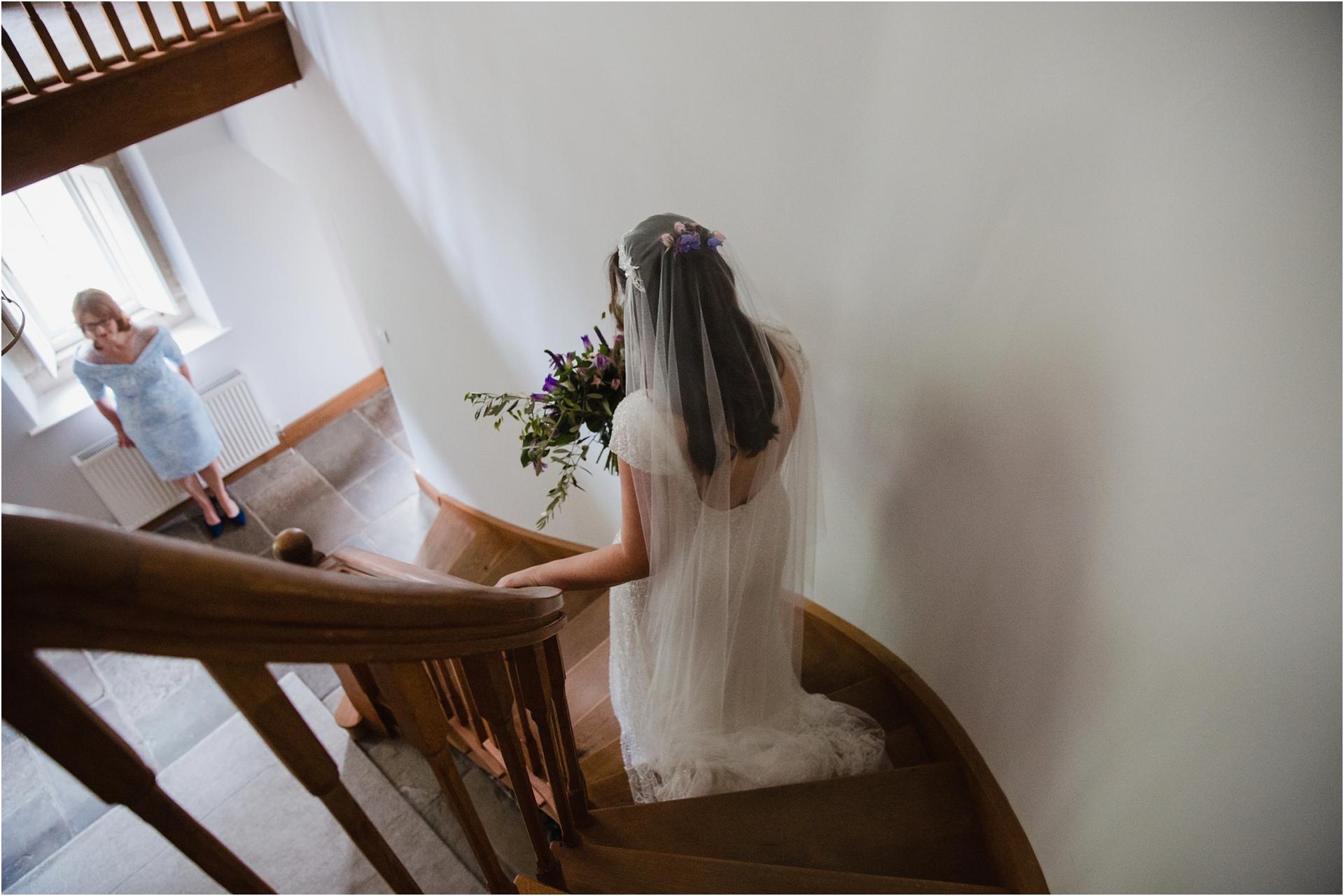 Bridal prep Stables House Derbyshire