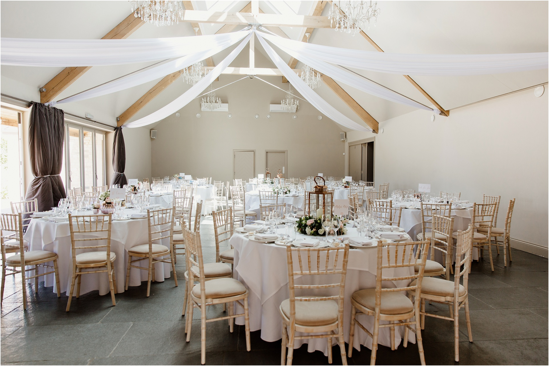 Wedding breakfast at Blackwell Grange