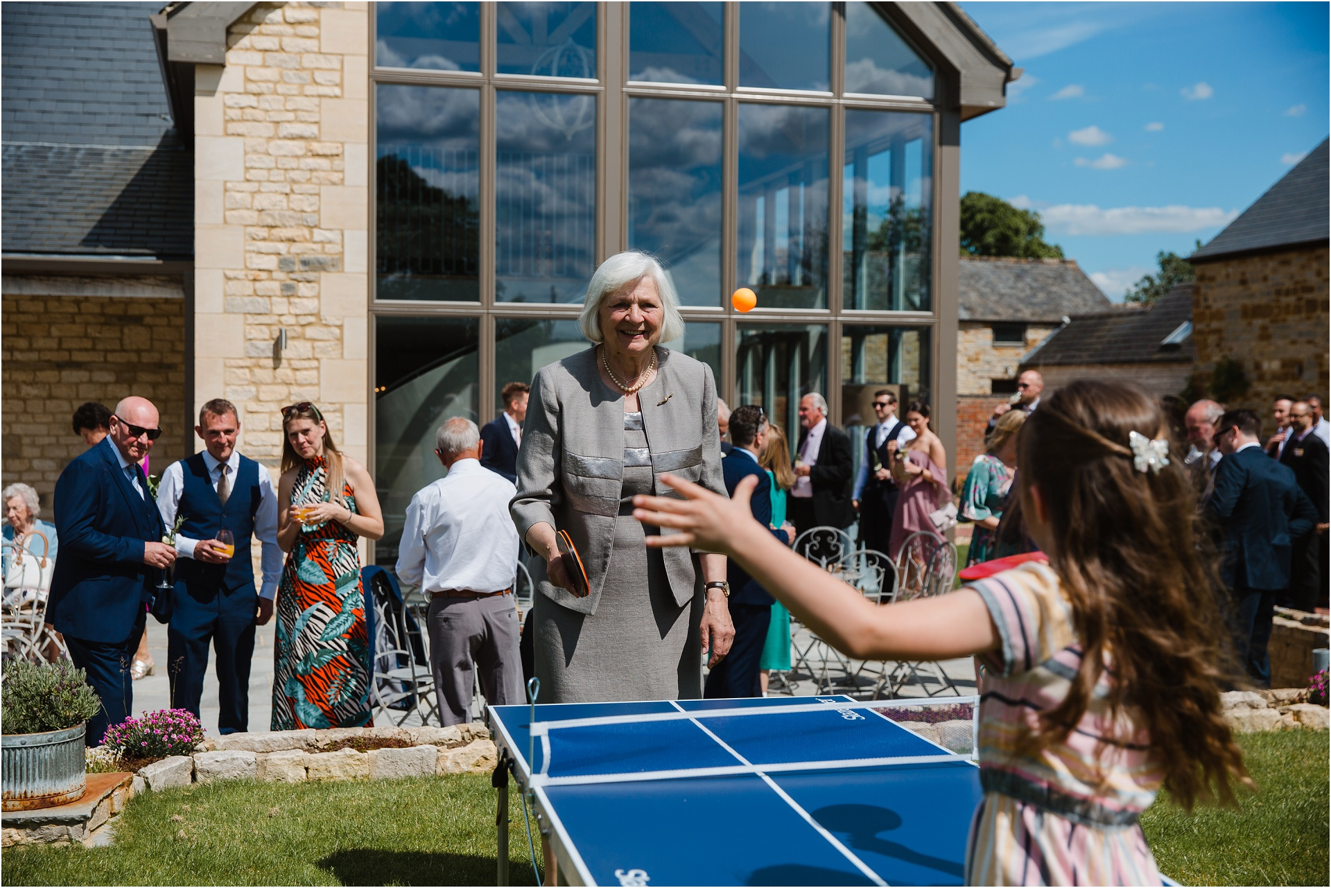 table tennis at Blackwell Grange