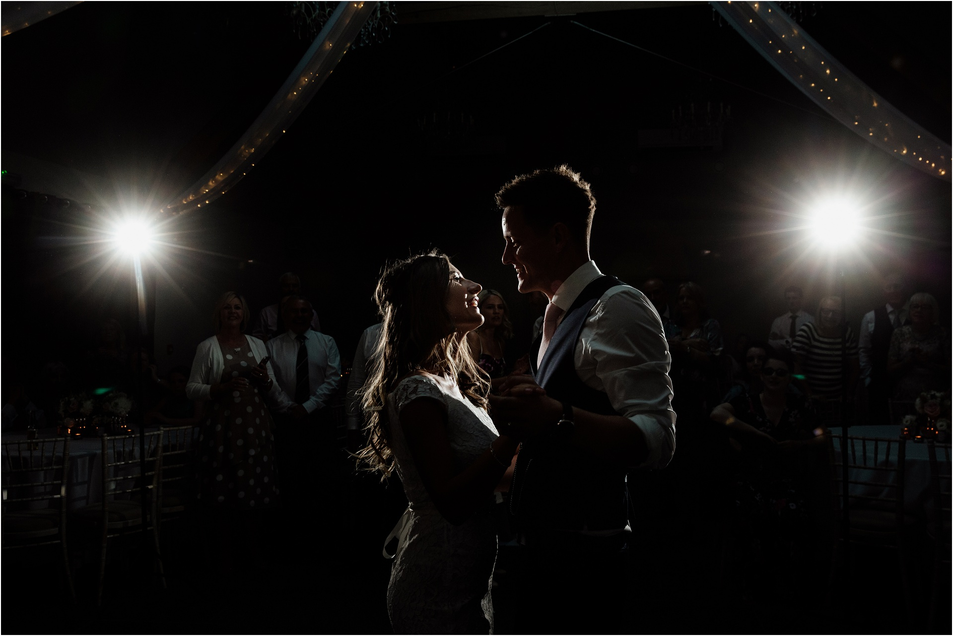 Dramatic first dance at Blackwell Grange