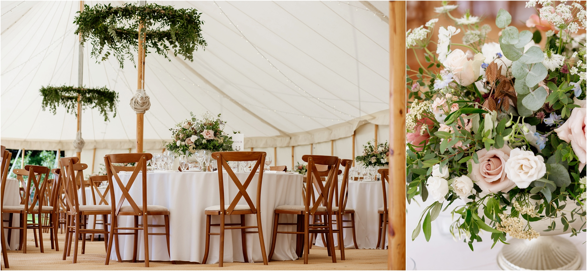 Marquee Home farm wedding photography Derbyshire