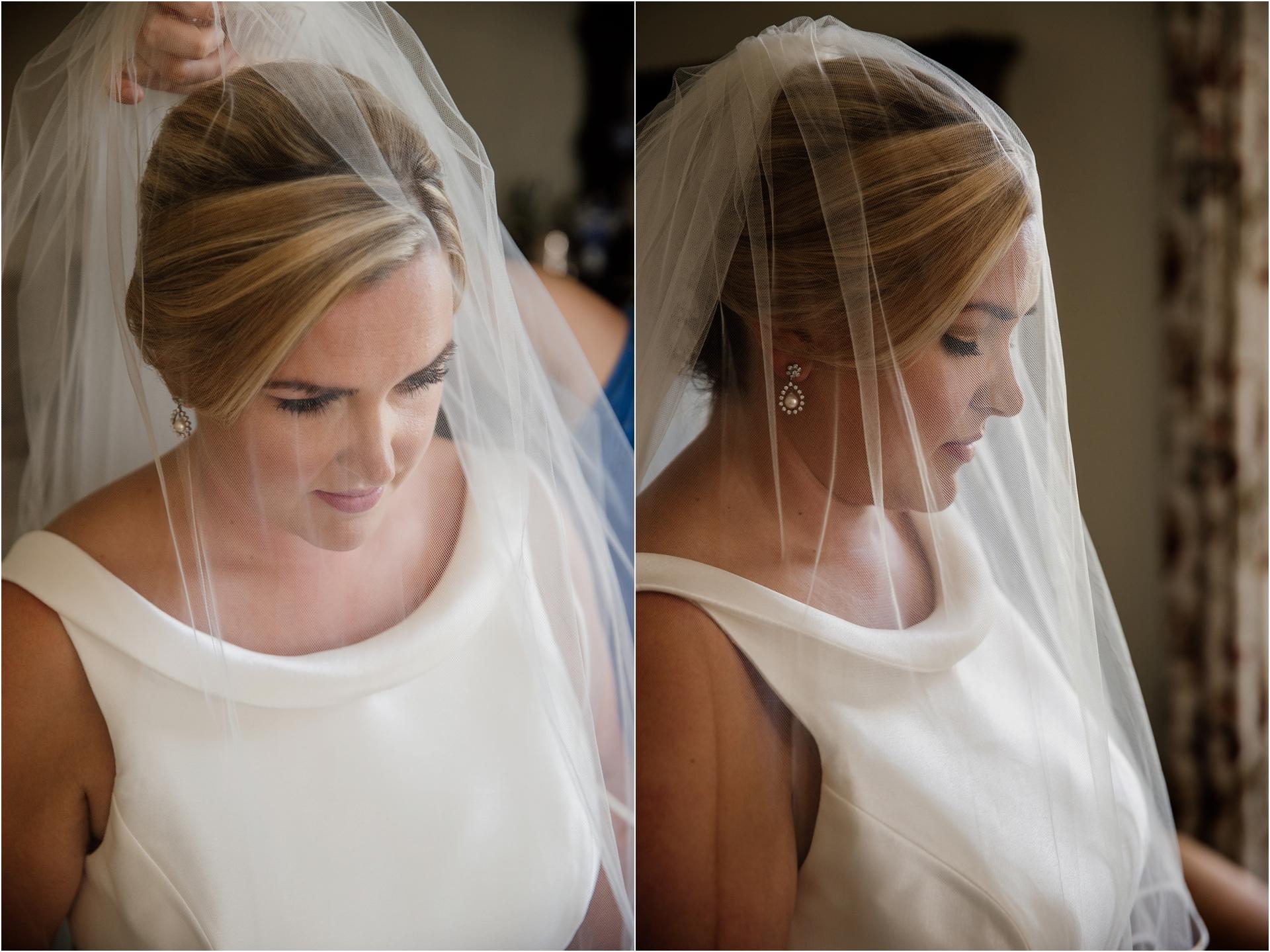Elegant bridal style