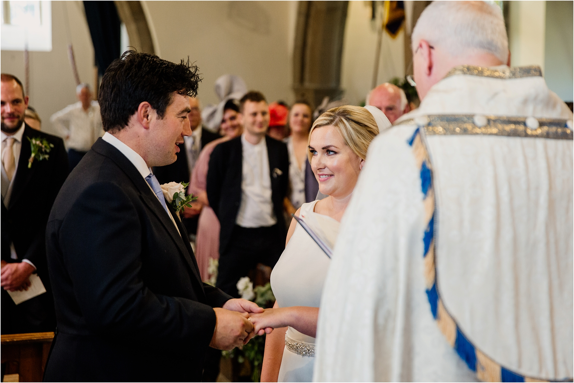 church wedding photography Derbyshire