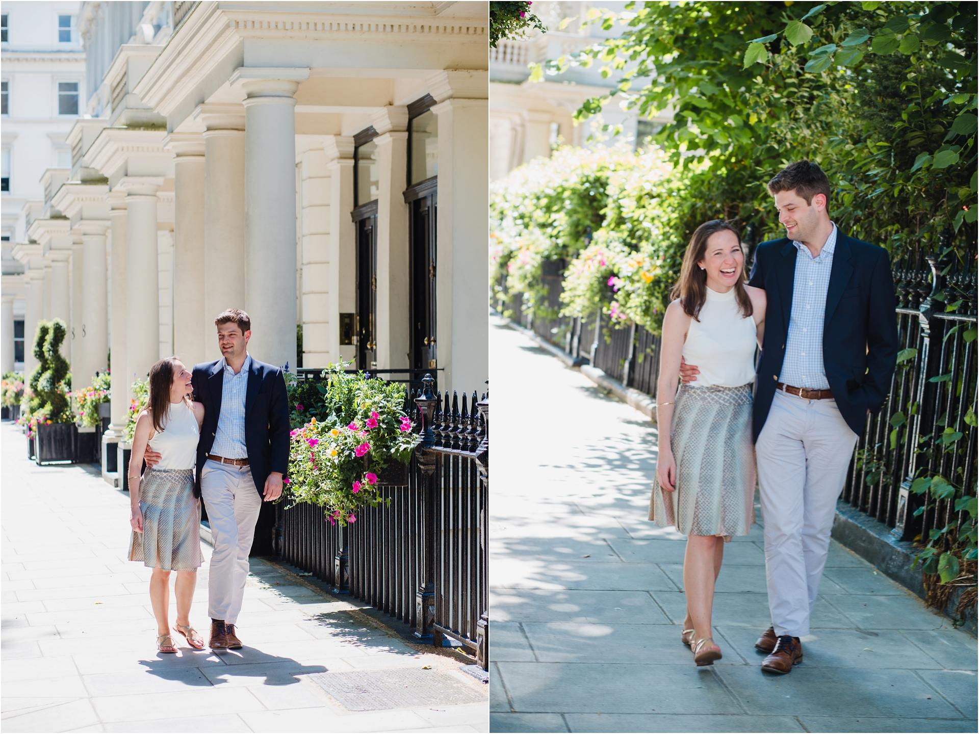 London city engagement session