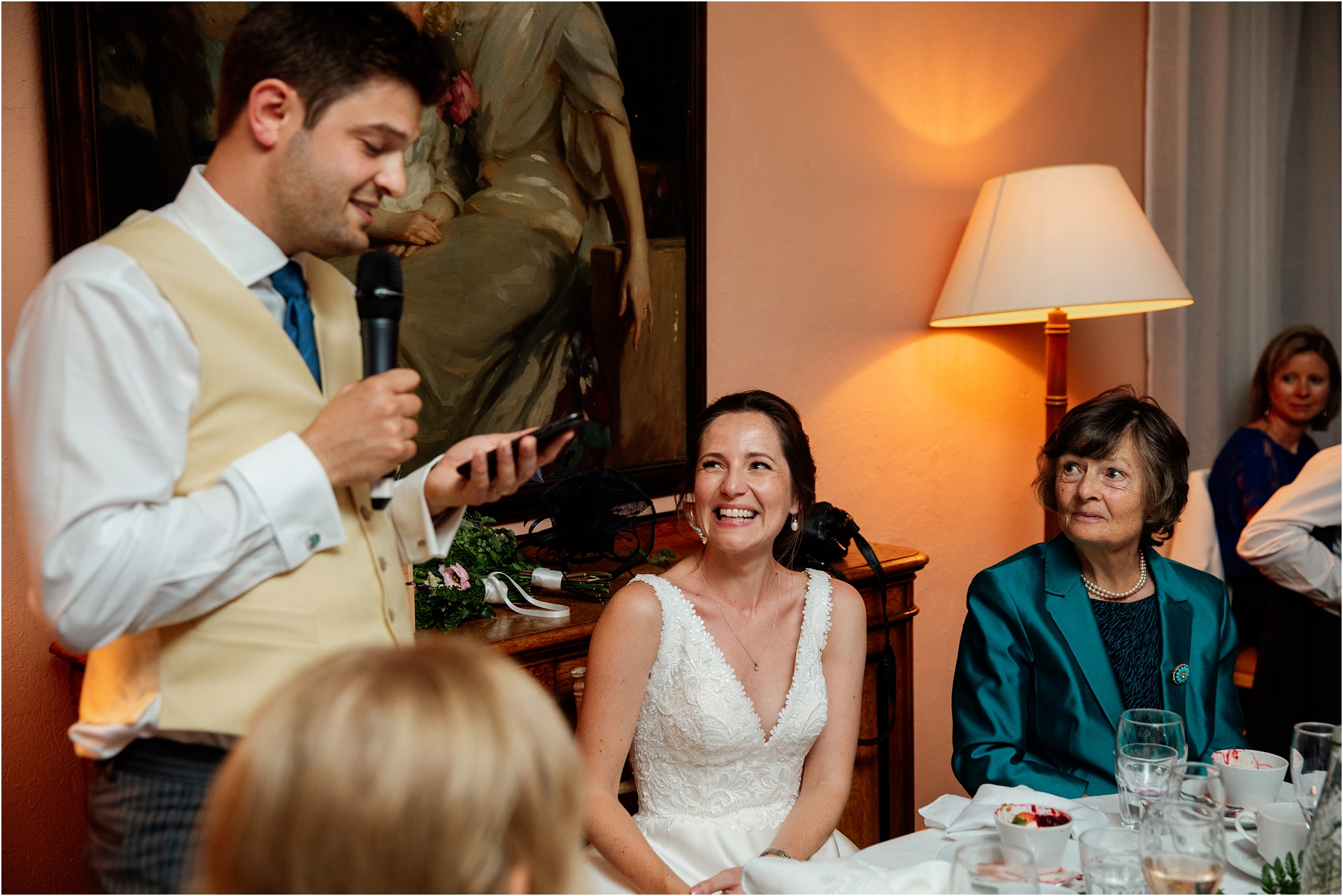 speeches at Holme Pierrepont Hall
