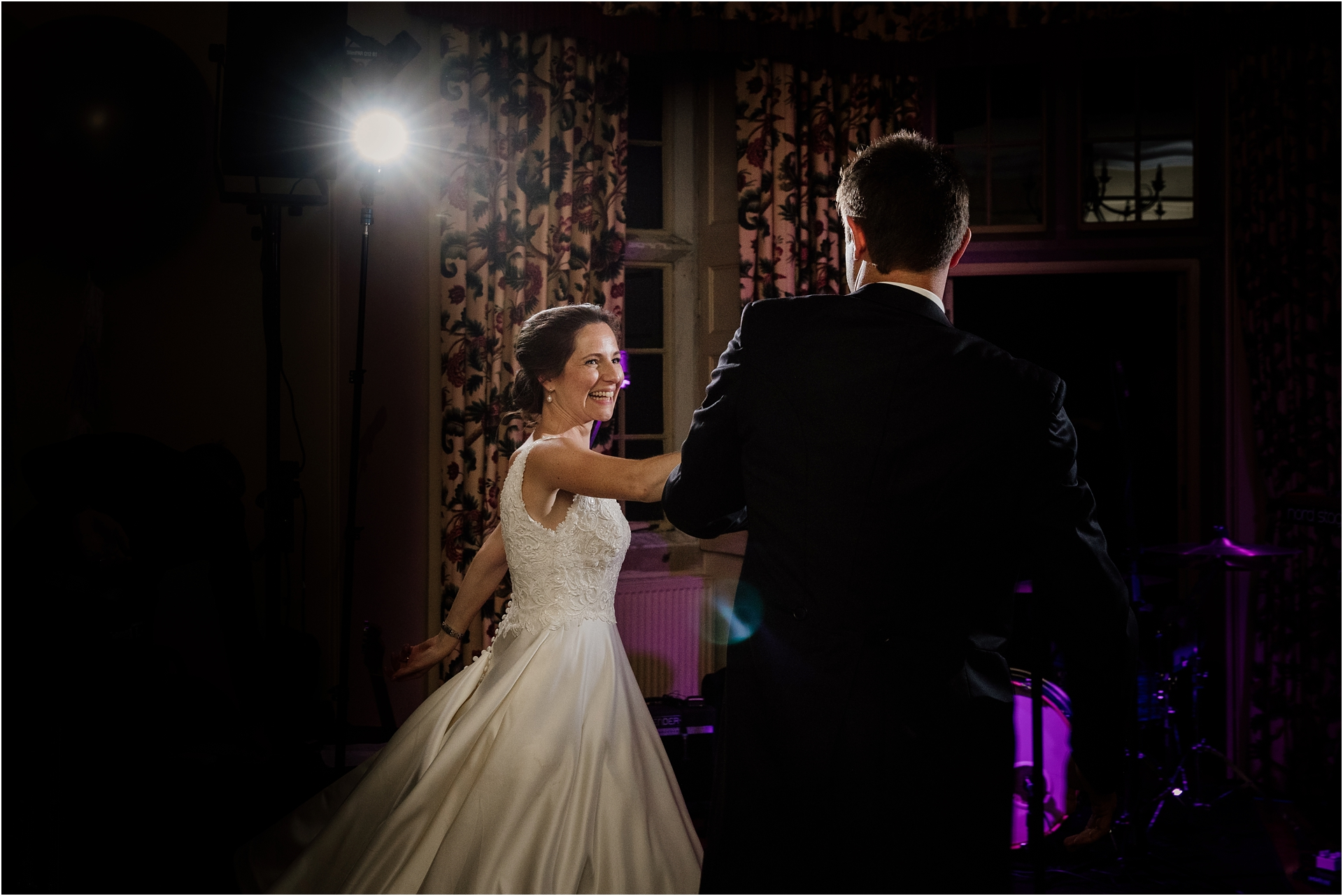 first dance at Holme Pierrepont Hall