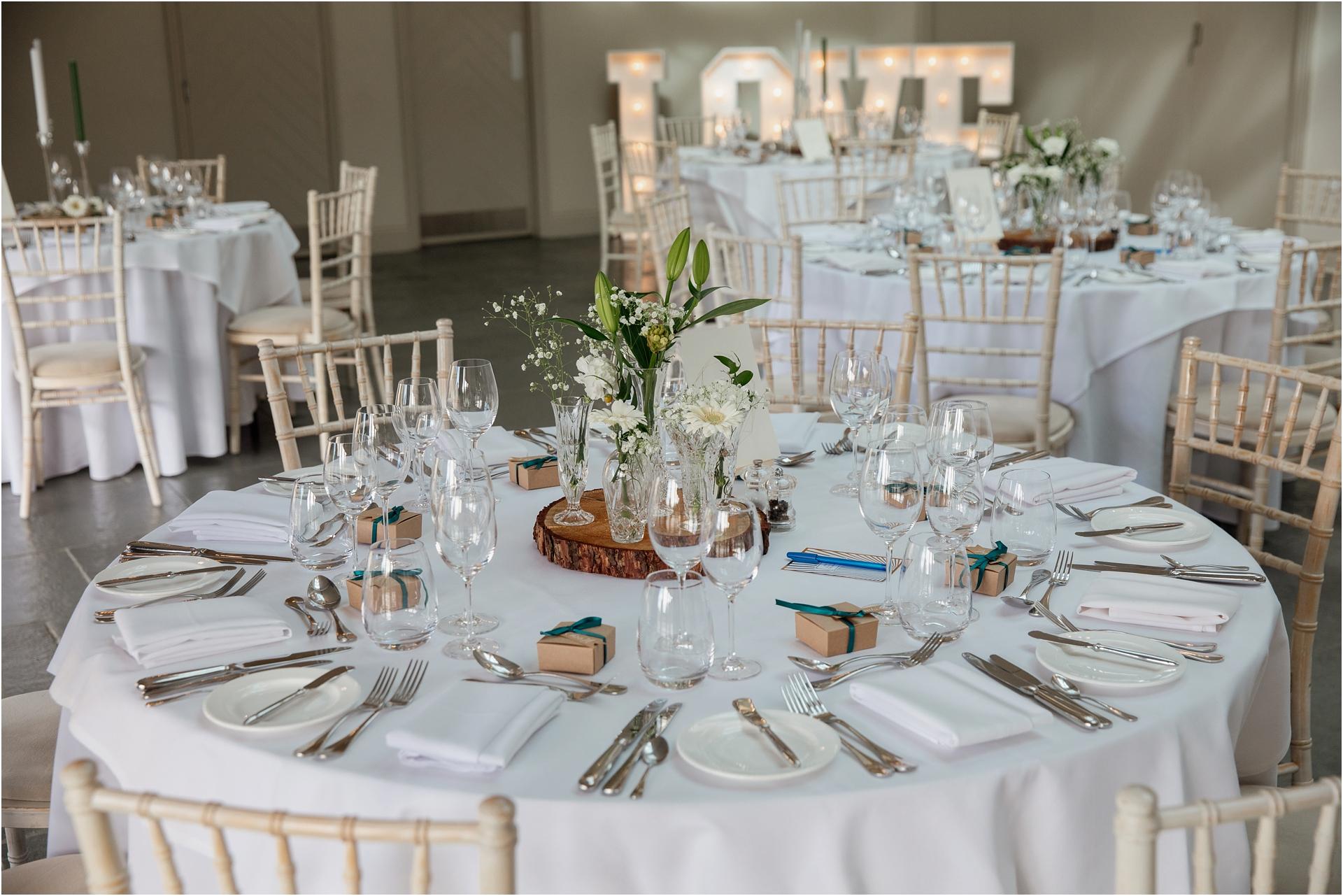 Blackwell Grange wedding reception