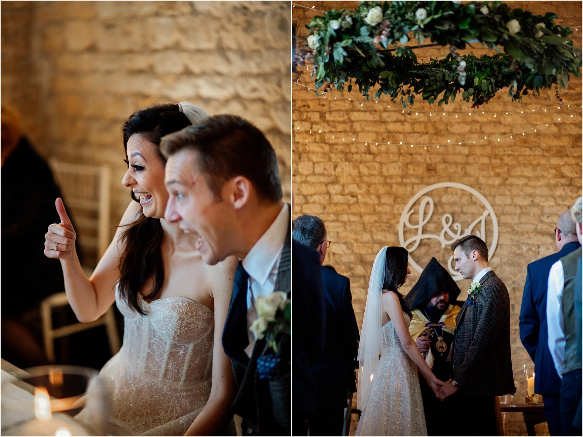Lapstone Barn wedding photography