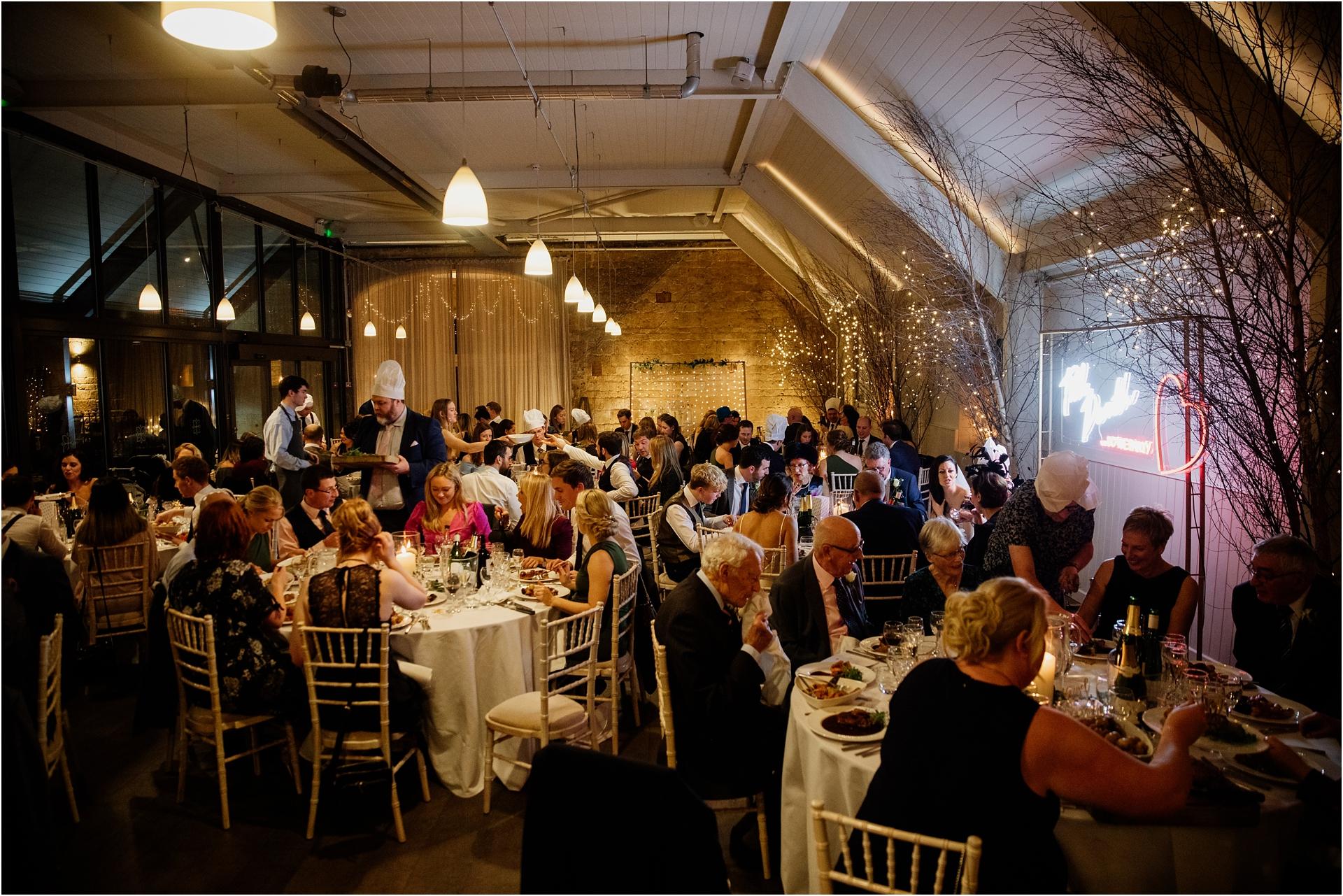 Lapstone Barn evening reception