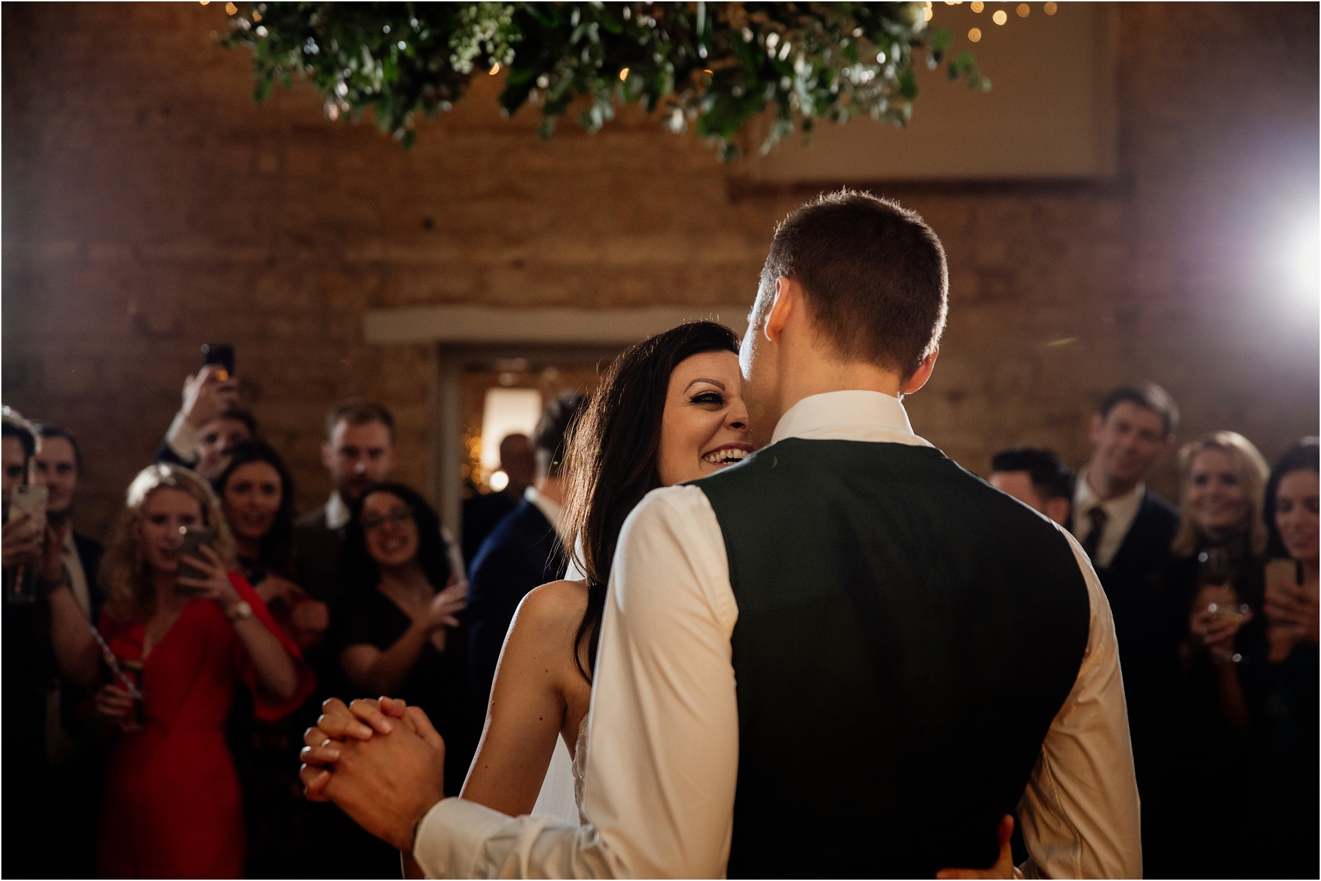 First dance at Lapstone Barn wedding