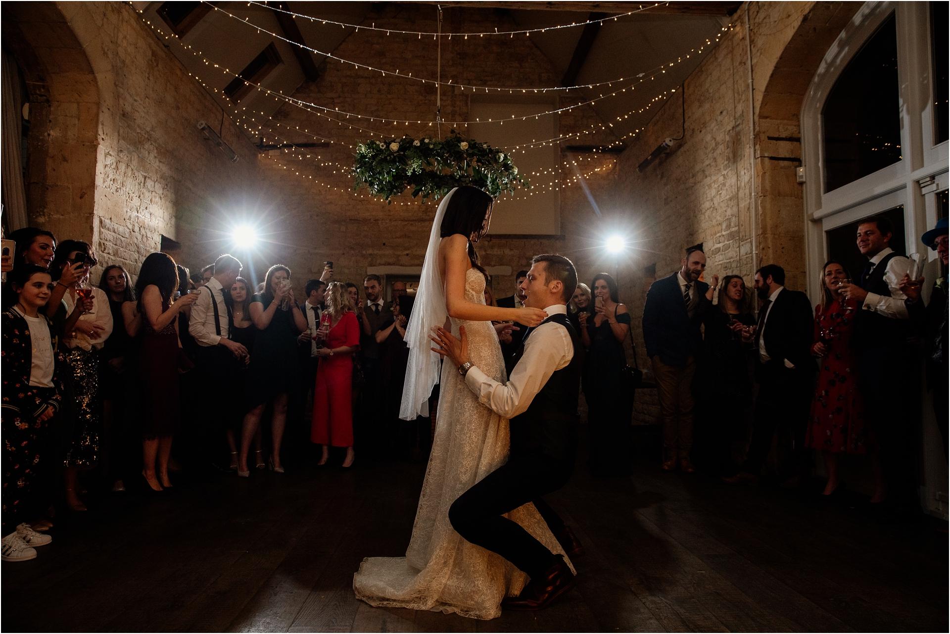 First dance at Lapstone Barn wedding