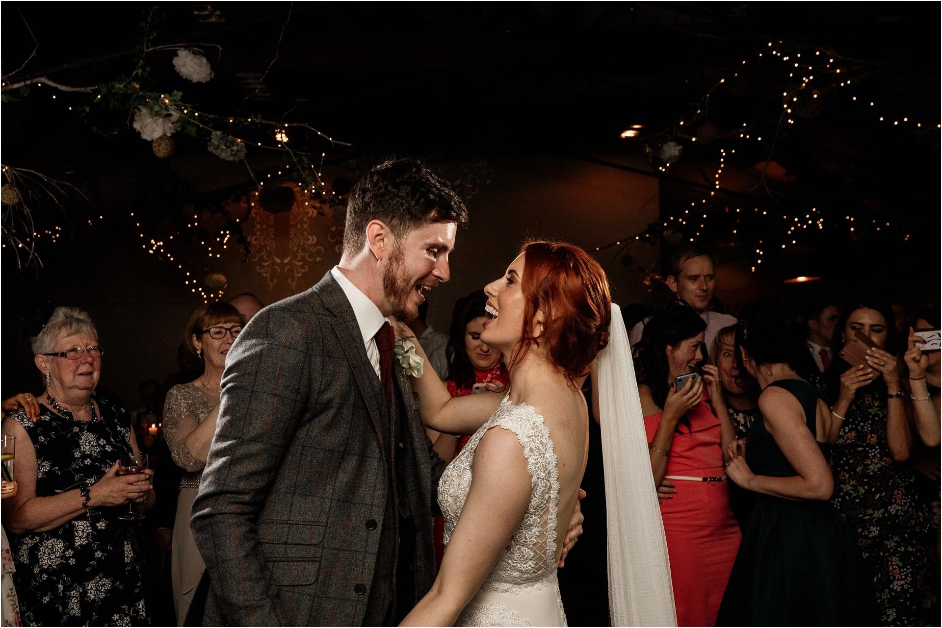 first dance Gorcott Hall wedding