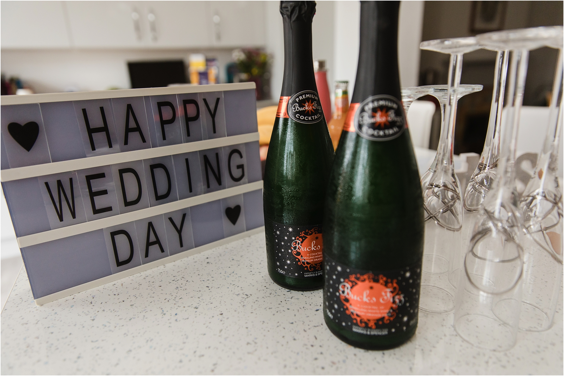 Relaxed intimate Leicestershire wedding