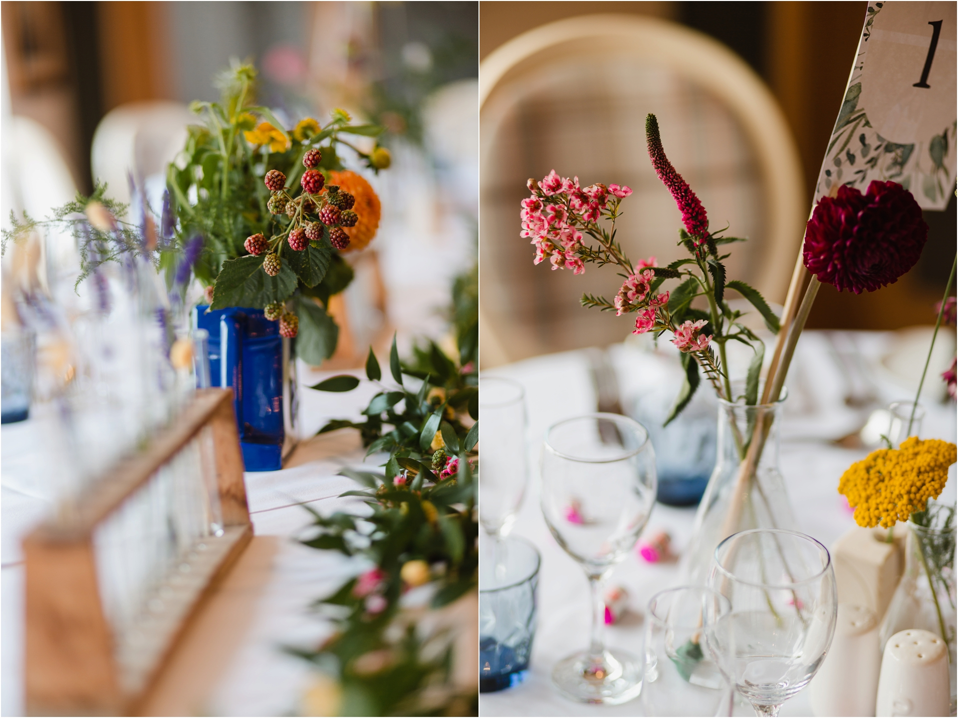 Chemistry themed wedding decor