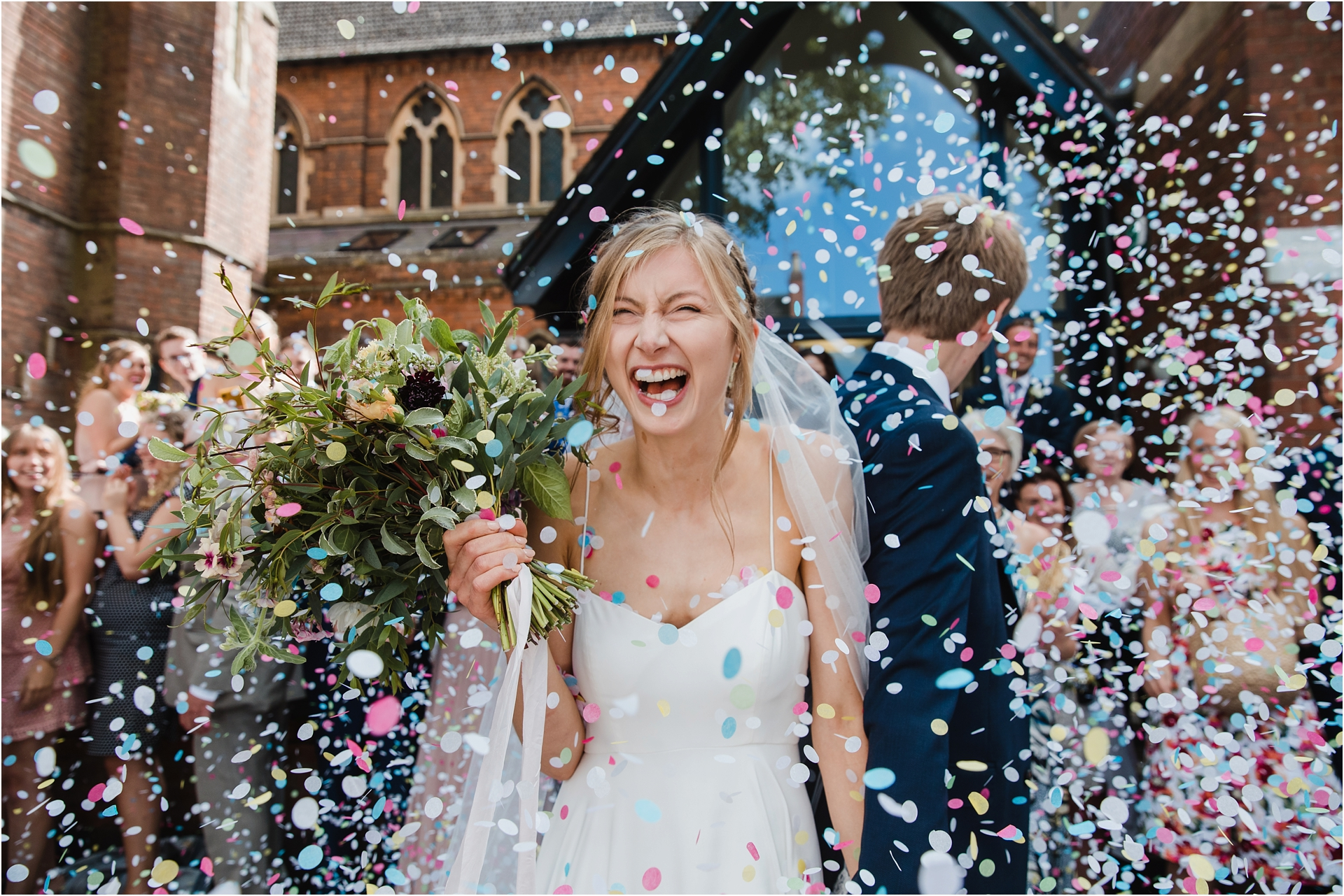 the perfect confetti photograph?