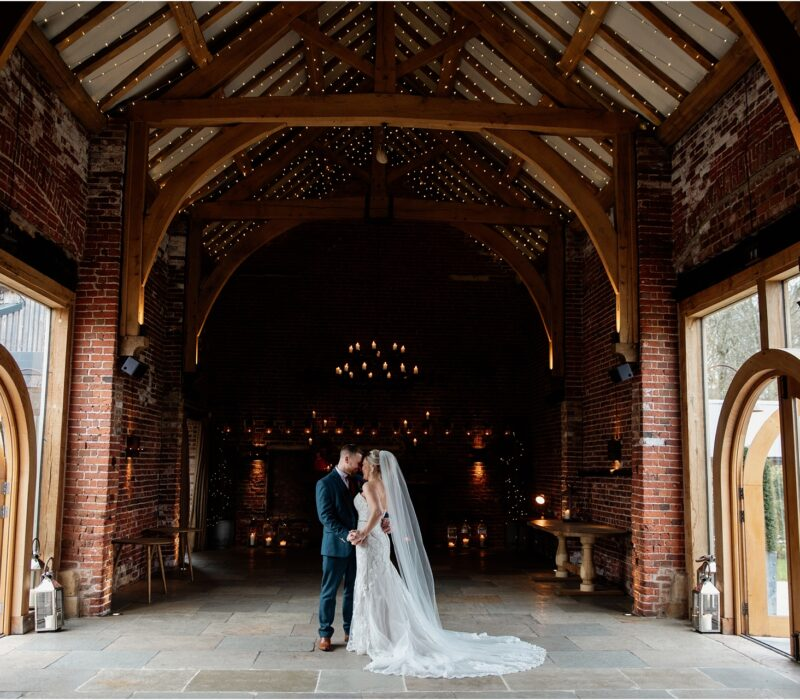 Wedding at Hazel Gap Barn